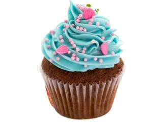 cupcake bạc hà